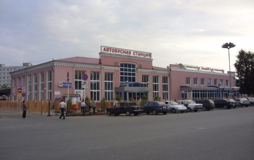 Автовокзал города Брянск